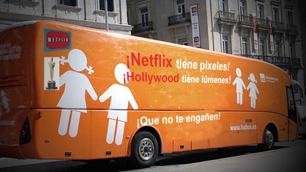 Post titulado: Netflix tiene píxeles. Hollywood tiene lúmenes.