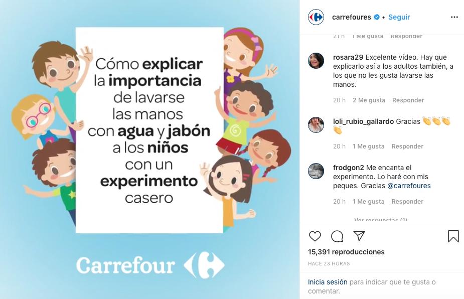 Coronavirus Carrefour