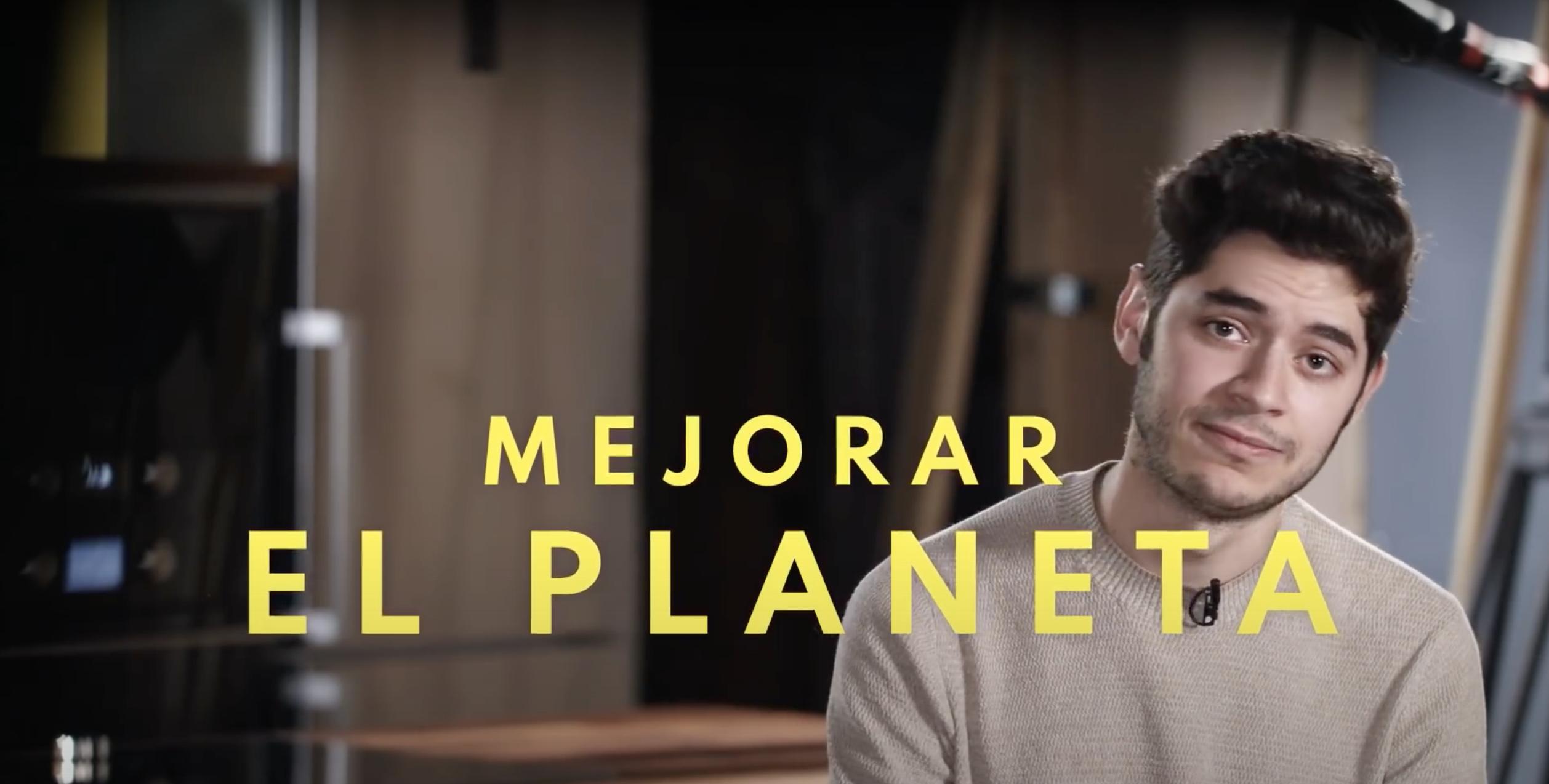 Mejorar el planeta con Fabián León